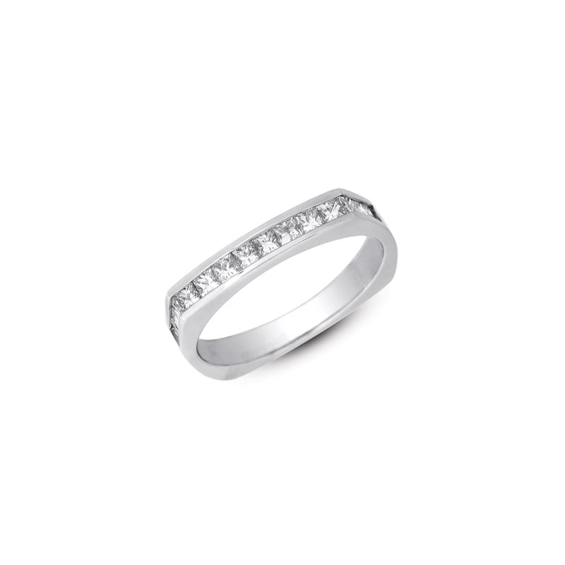 S. Kashi & Sons Bridal Platinum Princess Band