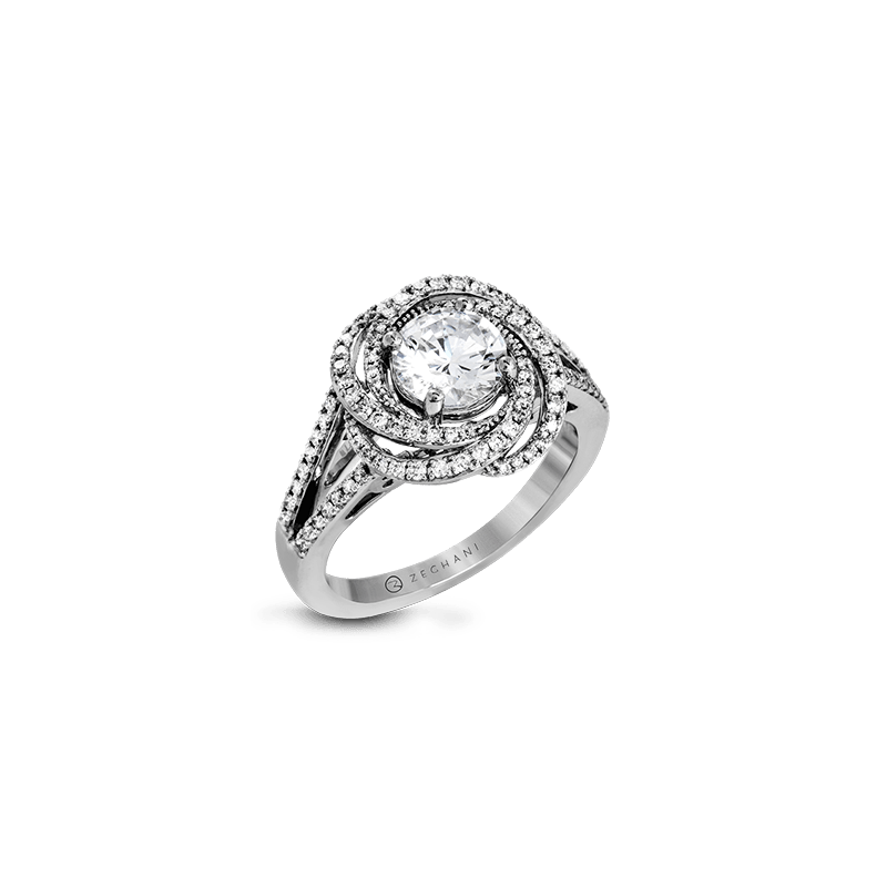Zeghani ZR1324 ENGAGEMENT RING
