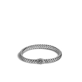 Classic Chain 6.5MM Bracelet in Silver. Available at our Halifax store