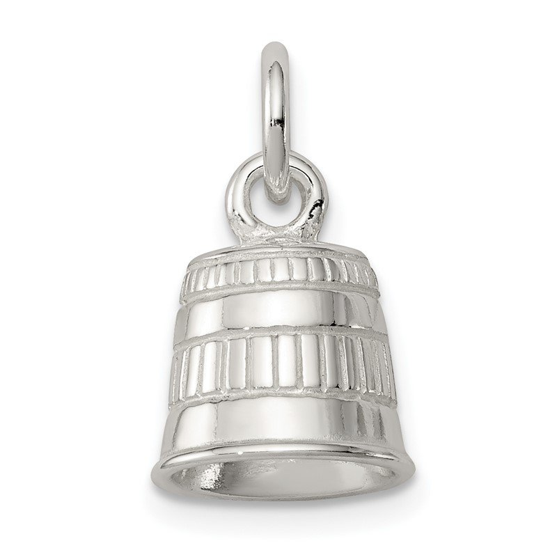 Quality Gold Sterling Silver Thimble Charm