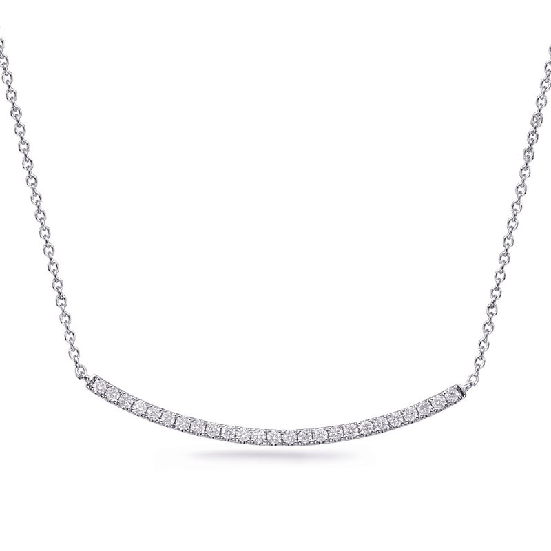 S. Kashi  & Sons White Gold Didmond Necklace