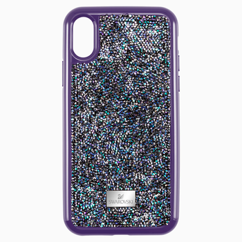 Glam Rock Smartphone case with Bumper, iPhone® XR, Purple