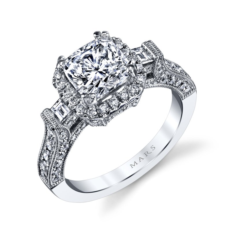 MARS Jewelry - Engagement Ring 25230