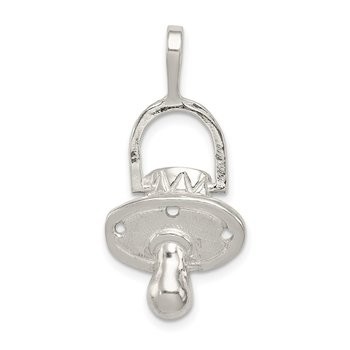 Sterling Silver Pacifier Charm