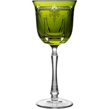 Yellow/Green Water Glass