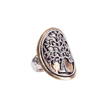 Tree Of Life Medallion Ring