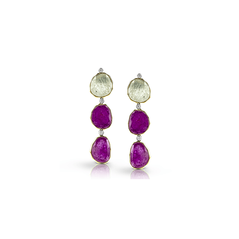Simon G ME1737 COLOR EARRING