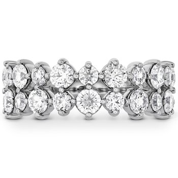 1.95 ctw. HOF Timeless Two Row Ring