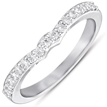 White Gold Matching Band for en7279