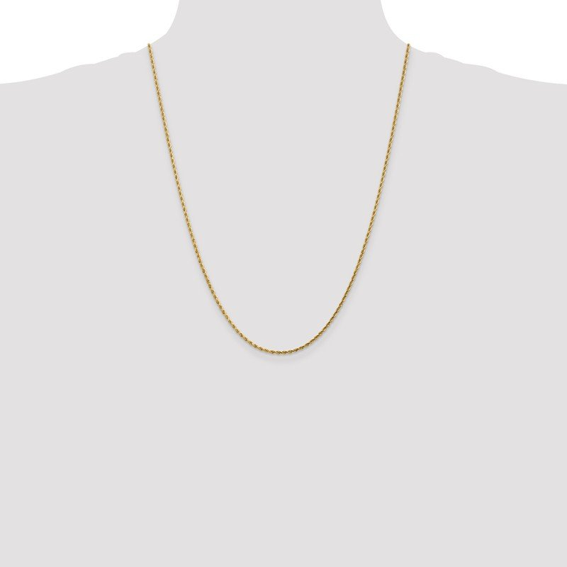 Leslie's Leslie's 14K 1.75mm Diamond-Cut Rope Chain