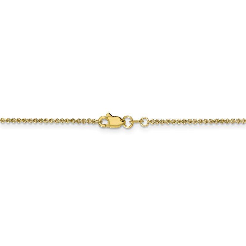 Quality Gold 10k 1.4mm Cable Chain Anklet