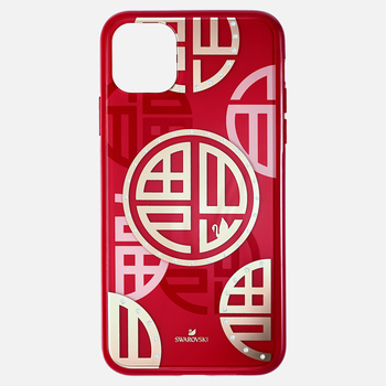 Full Blessing Fu Smartphone Case with Bumper, iPhone® 11 Pro Max, Red