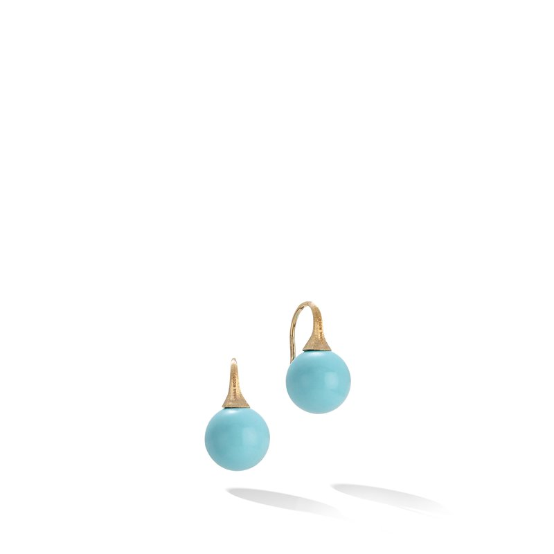 Marco Bicego Africa Turquoise French Wire Earrings