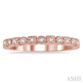 stackable diamond band