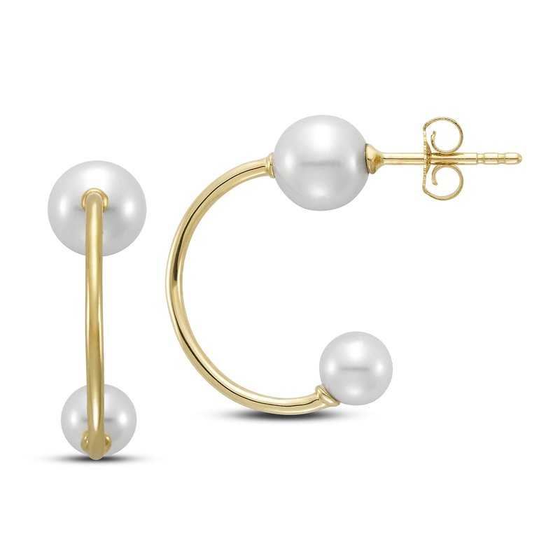 Mastoloni Pearls Pearl Hoop Earrings