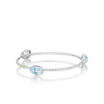 Island Rains Color Pop Oval Trio Bangle