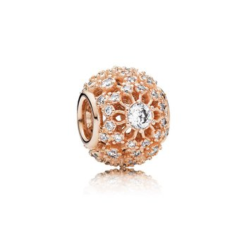 Inner Radiance Charm, Pandora Rose™ Clear Cz