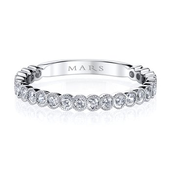 MARS 26259 Stackable Ring, 0.34 Ctw.