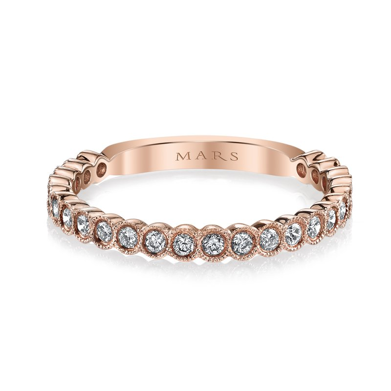 MARS Jewelry MARS 26259 Stackable Ring, 0.34 Ctw.