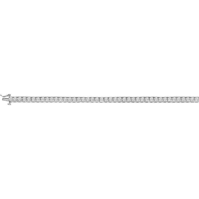 Gemsone 14K Diamond Bracelet 5 ctw