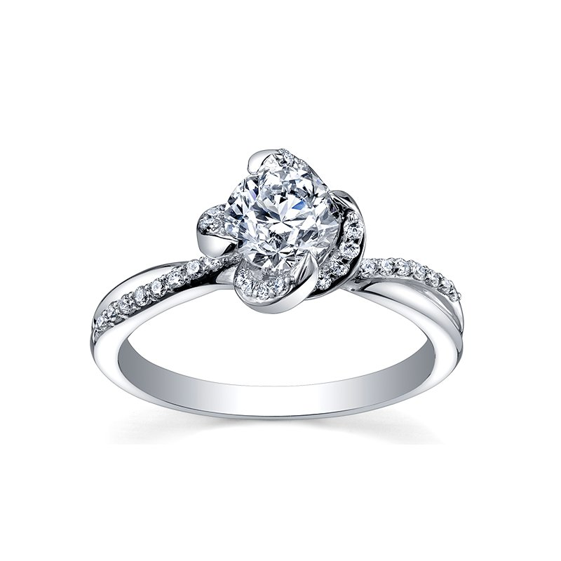 Maple Leaf Diamonds Maple Leaf Diamond Ladies Engagement Ring