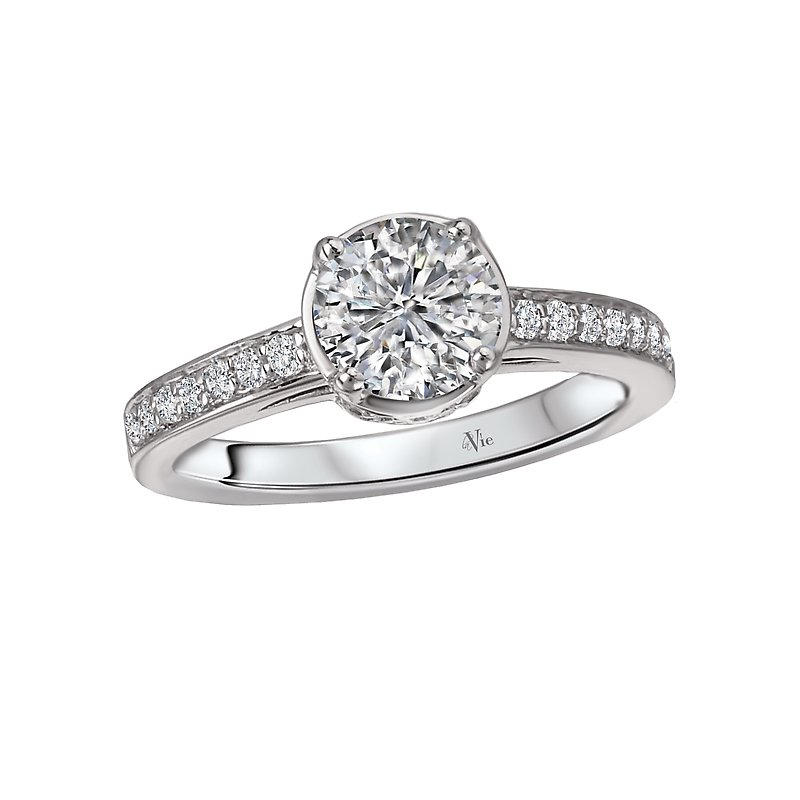 LaVie Semi-Mount Diamond Ring