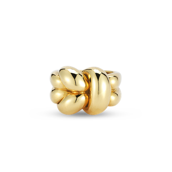 18KT GOLD KNOT RING