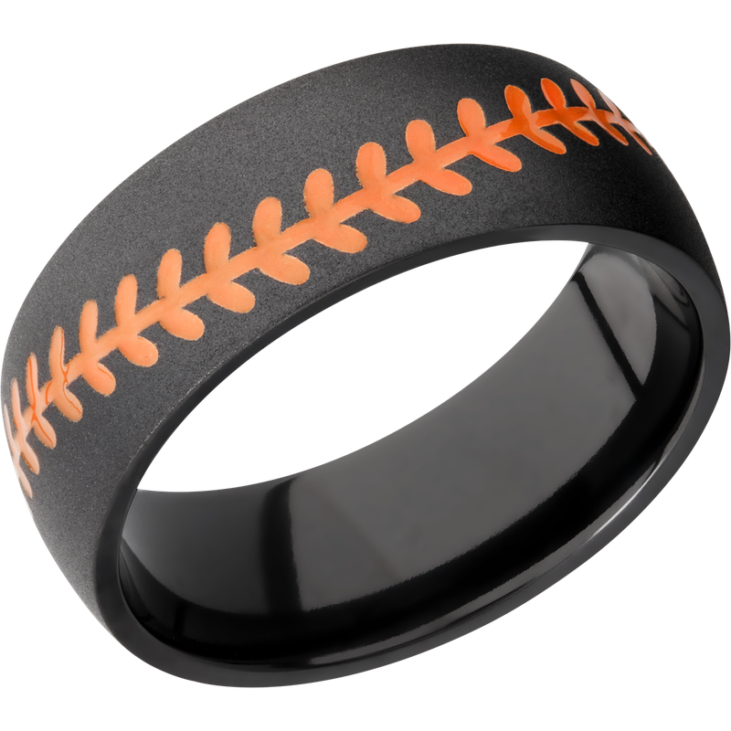 Lashbrook Designs Z8DBASEBALL_A+HUNTERORANGEOUT_BEAD