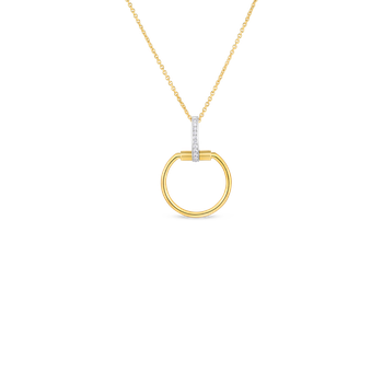 #28047 Of 18Kt Gold Necklace With Diamonds