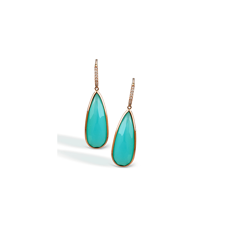 Zeghani ZE307 COLOR EARRING