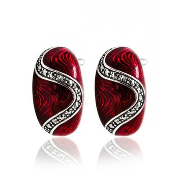 Ruby Bonbon Earrings