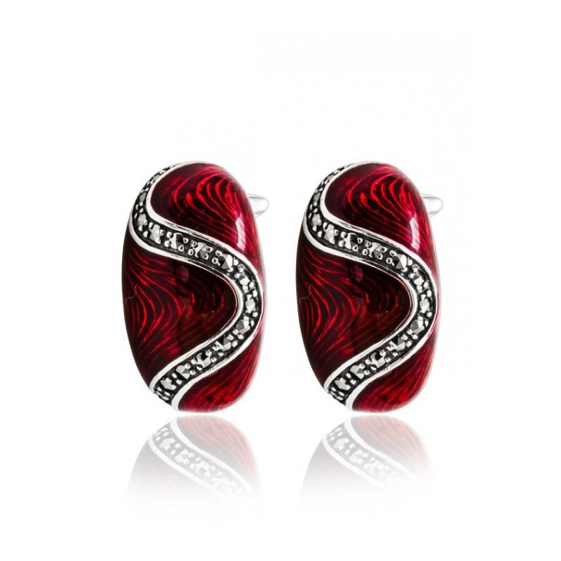 LARUS Jewelry Ruby Bonbon Earrings