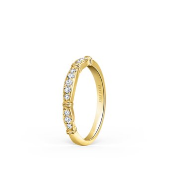 Timeless Classic Diamond Wedding Band