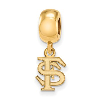 Gold-Plated Sterling Silver Florida State University NCAA Bead