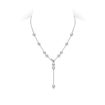 Pearls in Motion Akoya Cultured Pearl Necklace