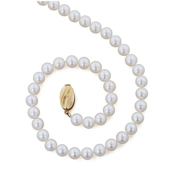 "Cultured Pearl 20"" Necklace"