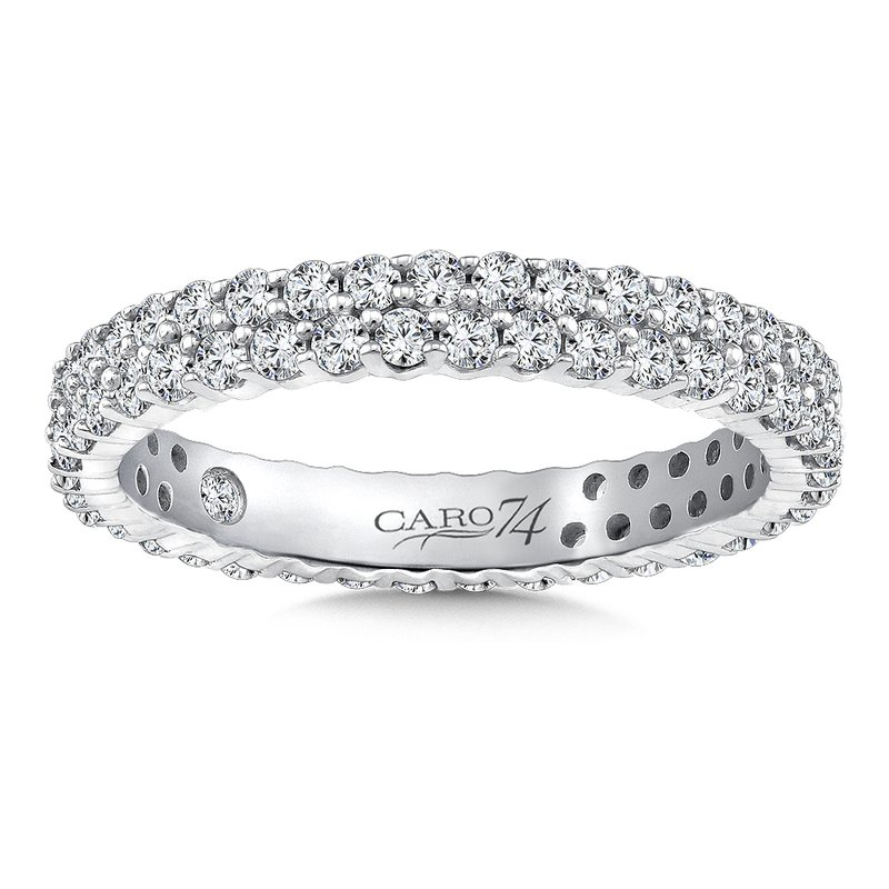 Caro74 Eternity Band (Size 6.5) in 14K White Gold (1.04ct. tw.)