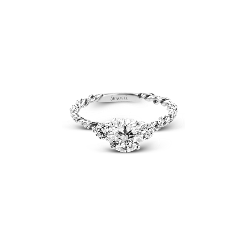 Simon G LR2637 WEDDING SET
