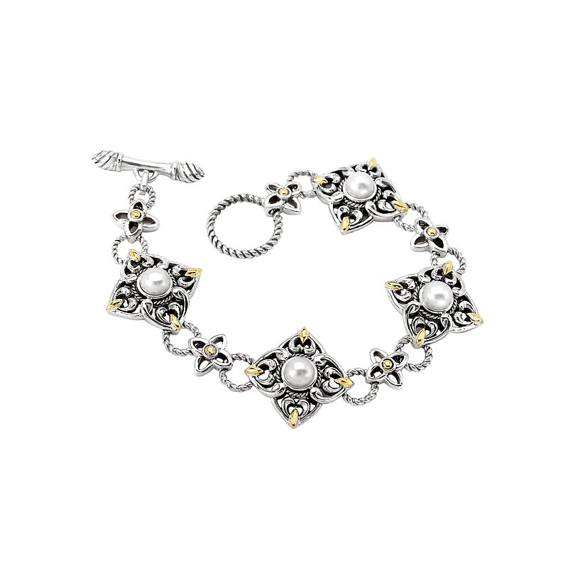 Eleganza Ladies Fashion Pearl Bracelet