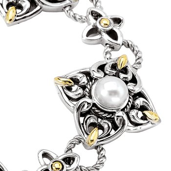 Ladies Fashion Pearl Bracelet