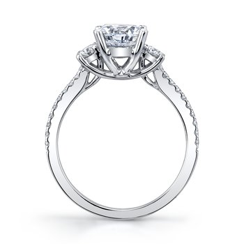 MARS 27199 Diamond Engagement Ring, 0.28 Ctw.