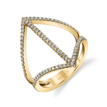 MARS 26718 Fashion Ring, 0.29 Ctw.