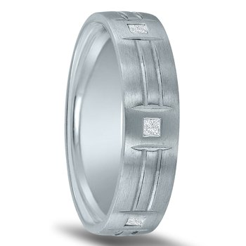 Men's 1/4 Carat Diamond Wedding Band ND01827 by Novell