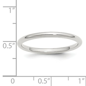 SS 2mm Comfort Fit Size 10 Band