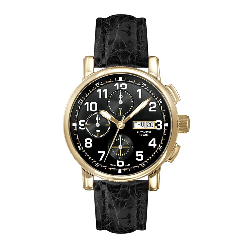 Morrison Signature Watches m8019s-blkblk