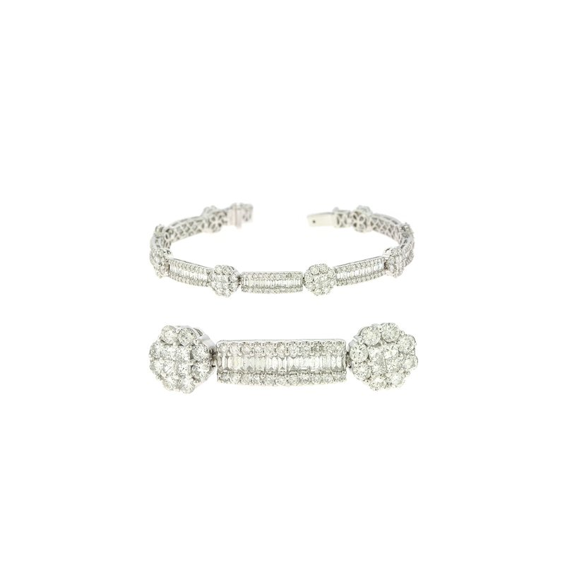 S. Kashi  & Sons White Gold Diamond Bracelet