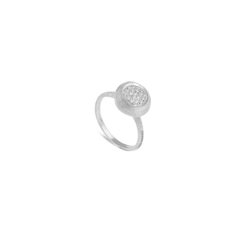 Marco Bicego Jaipur Diamond White Medium Stackable Ring