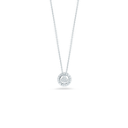 Roberto Coin Peace Sign Pendant With Diamonds