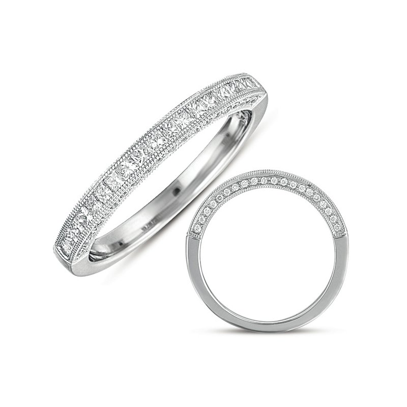 S. Kashi & Sons Bridal White Gold Matching Band For en7058