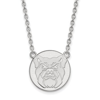 Sterling Silver Butler University NCAA Necklace